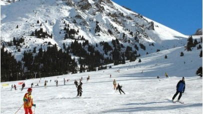 Ski tour to Shymbulak